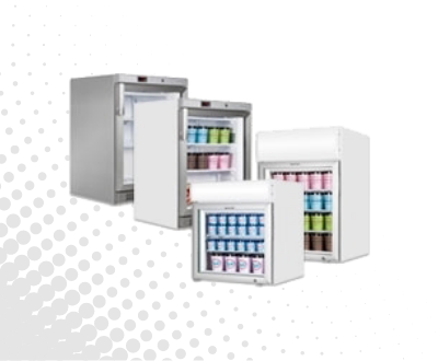 Counter and Undercounter Display Freezers